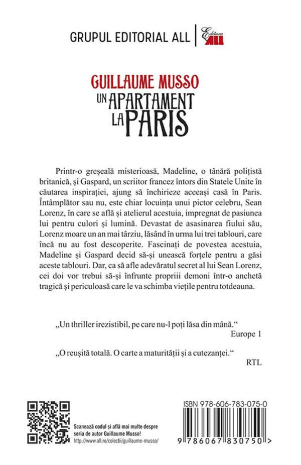 Un apartament la Paris