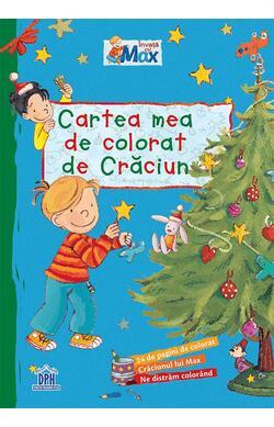 Cartea mea de colorat de Craciun
