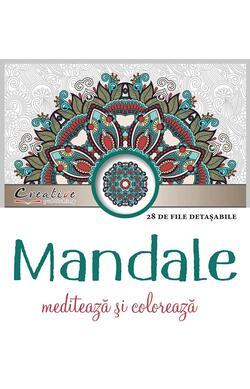 Mandale - mediteaza si coloreaza