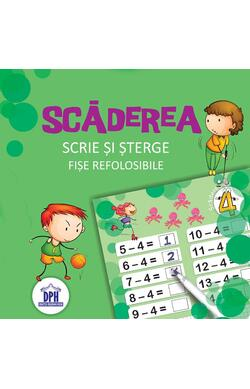 Scaderea - Scrie si sterge - Fise refolosibil...